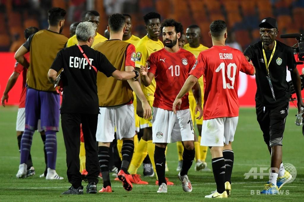 開催国エジプトがネーションズカップ開幕戦勝利、ジンバブエ下す