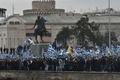 ギリシャ北部で反マケドニアデモ、9万人参加 国名論争でけん制