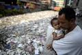 フィリピン首都マニラの「ごみの川」