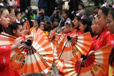 少女らの舞「チャッキラコ」、小正月に豊漁祈願 神奈川・三浦