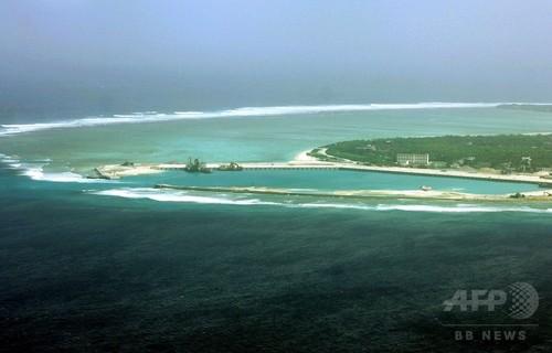 中国、西沙諸島にミサイル配備 台湾国防部が確認