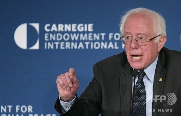 バーニー・サンダース氏、20年米大統領選出馬に「脈あり」
