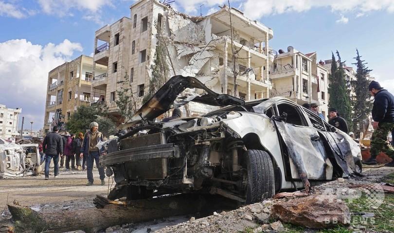 シリア・イドリブで連続爆弾攻撃、24人死亡 監視団発表
