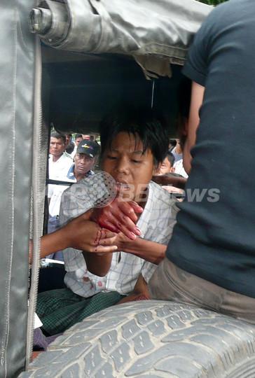 ミャンマー、民主化デモから1周年のヤンゴンで爆発 6人負傷