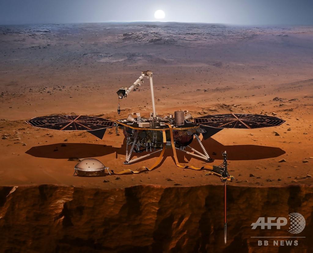 火星の「地震」を観測、謎解明に前進 NASA探査機