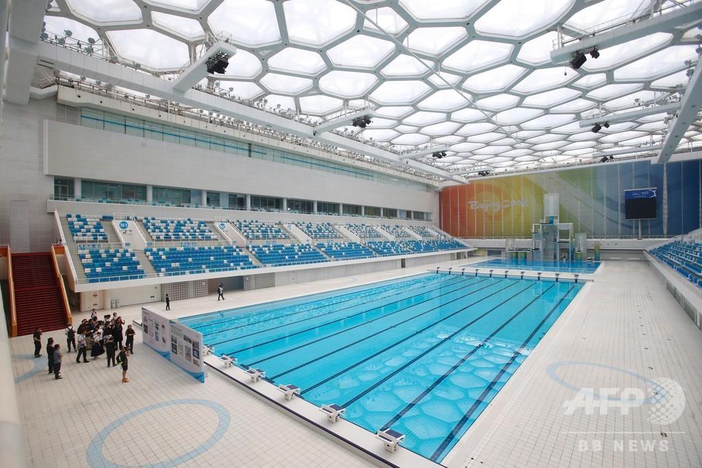 北京の国家水泳センター、年末までに氷上競技会場へ 冬季五輪見据え