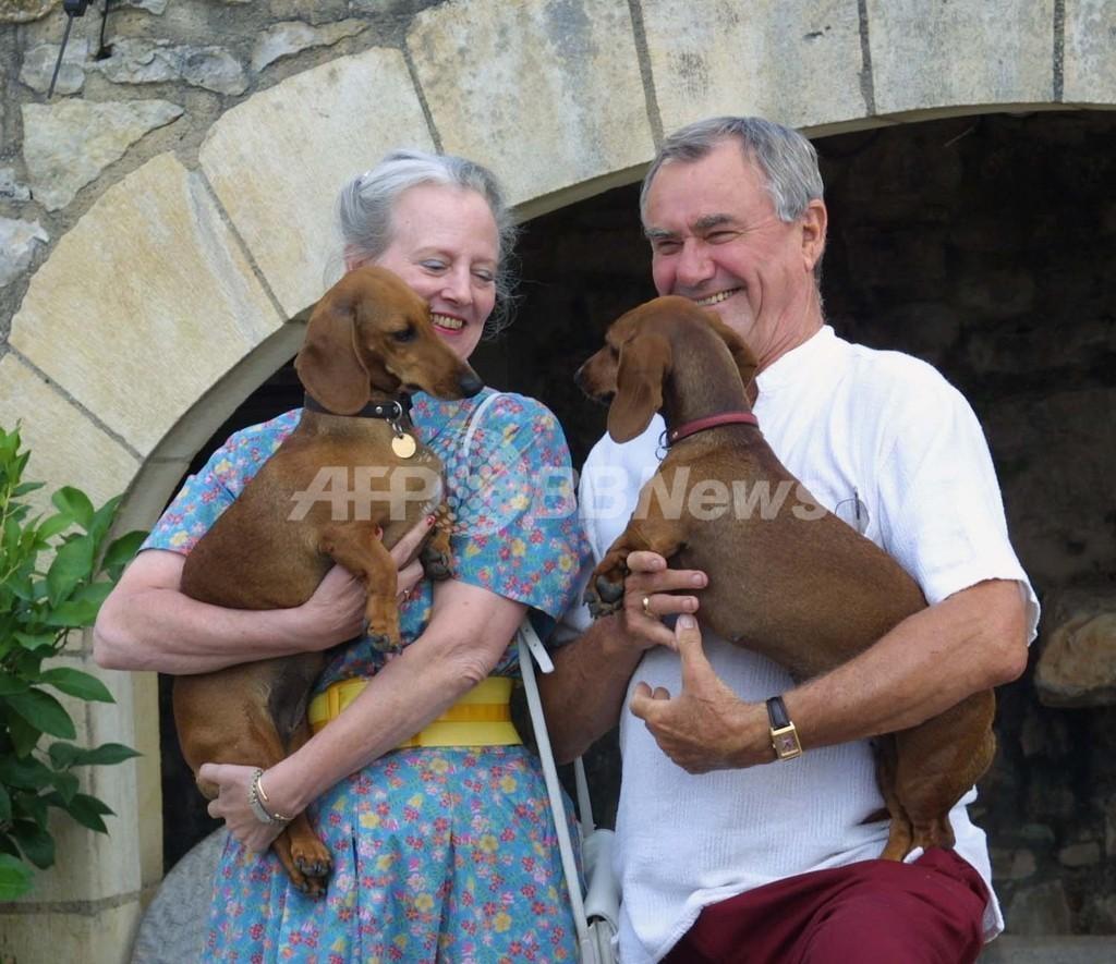 デンマーク王室の飼い犬が守衛をガブリ、野党議員ら「安楽死」要求