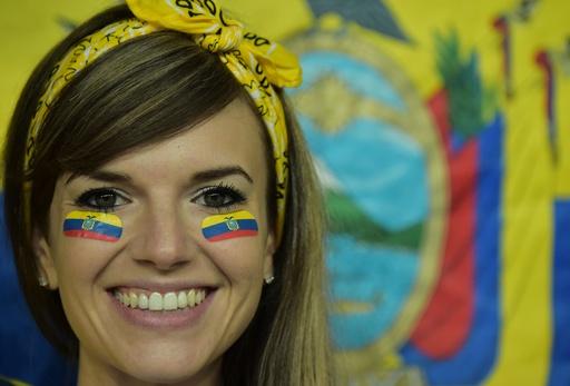 【写真特集】W杯ブラジル大会を彩る「美人」サポーター