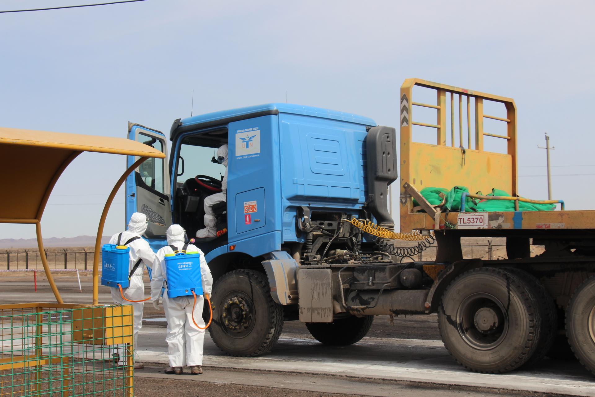 新型コロナで止まっていたモンゴルの対中石炭輸出再開