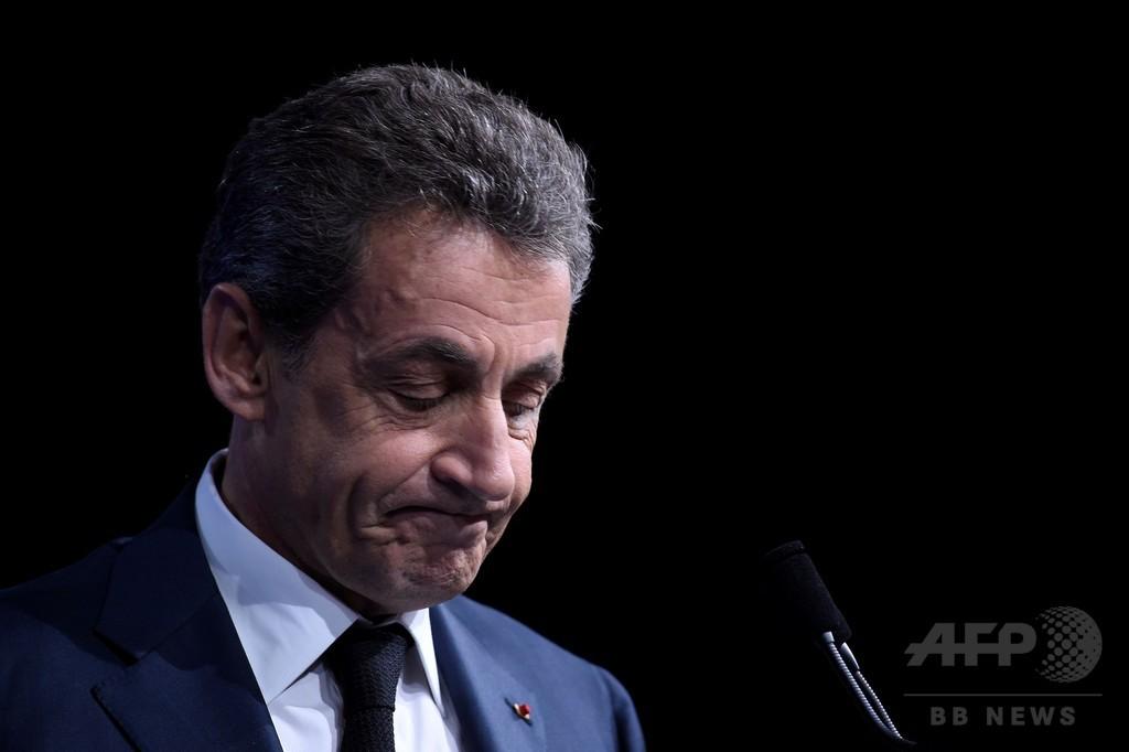 サルコジ仏元大統領、リビア絡みの選挙資金援助疑惑で聴取へ