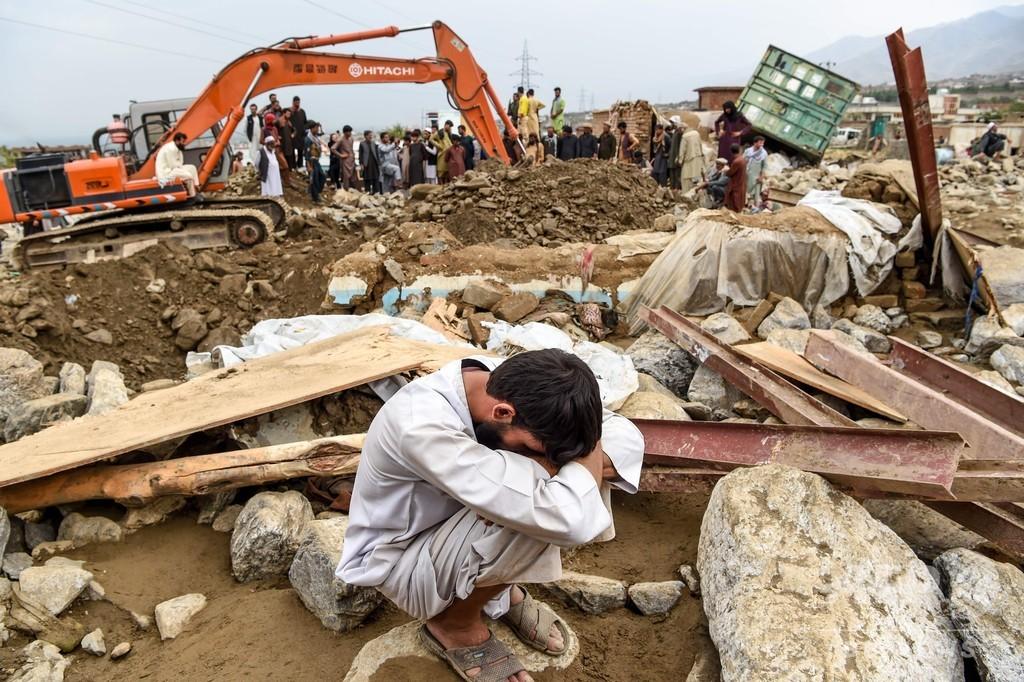 鉄砲水で100人死亡、家屋数百戸が損壊 アフガニスタン東部
