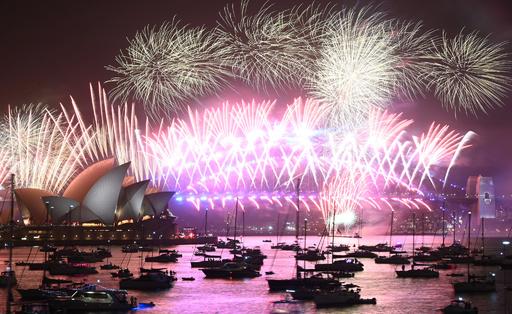 2020年の幕開け シドニー皮切りに世界各地で祝賀