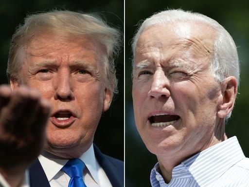 バイデン前副大統領ら、トランプ氏をリード 2020年米大統領選 世論調査