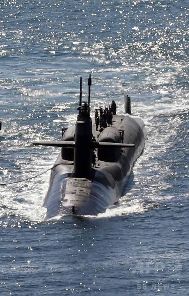 韓国、米国から原潜購入か 交渉開始と報道