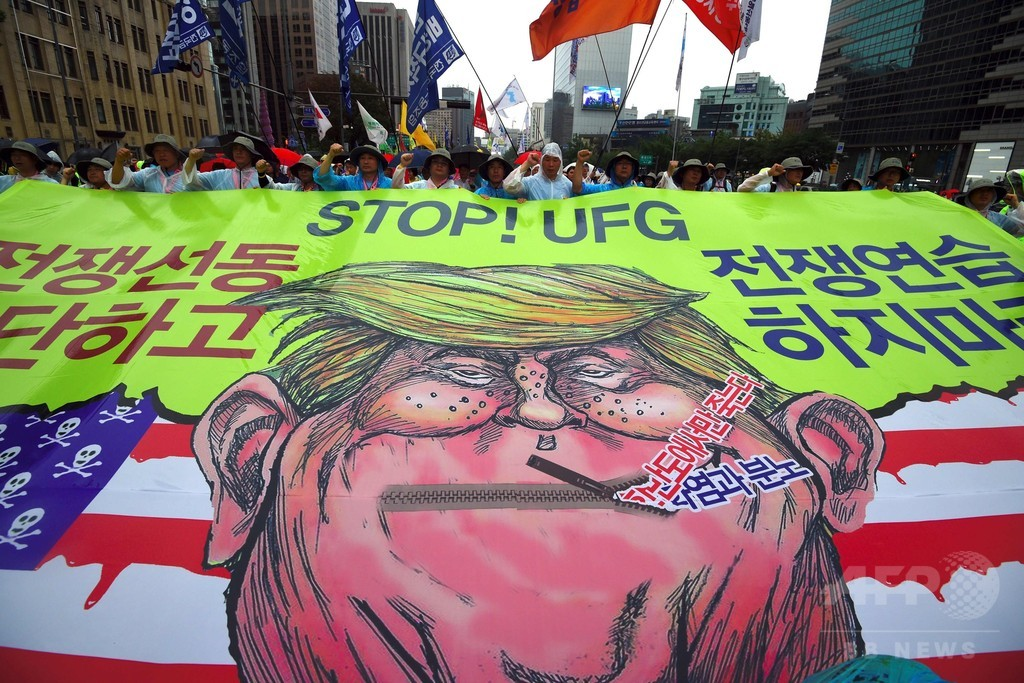 朝鮮半島で「戦争起きない」 韓国大統領、就任100日会見で