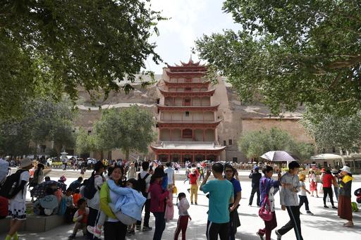敦煌にゴビ砂漠…甘粛省への外国人観光客が増加、中心は日本人