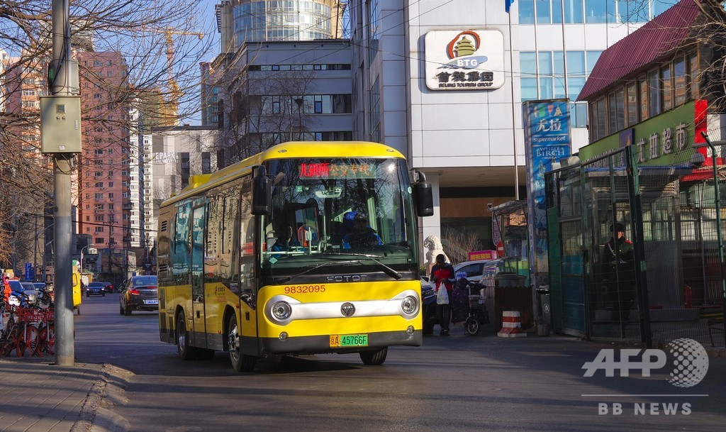 電気駆動バスが半分を超に 2020年の北京