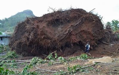 スーパー台風直撃で非常事態宣言、ミクロネシア