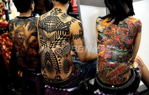 南半球最大のタトゥーイベント、豪シドニー