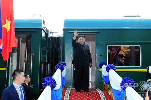 金正恩氏が平壌に到着 国営メディア報道