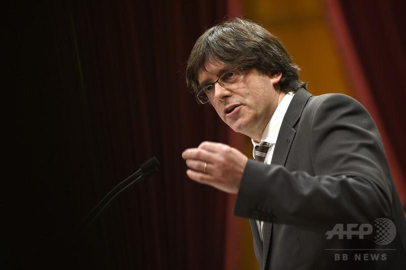 カタルーニャ議会、新たな州首相を選出 内部対立に終止符
