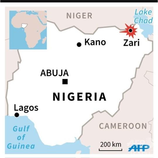 ボコ・ハラムが軍の基地を襲撃、兵士48人死亡 ナイジェリア