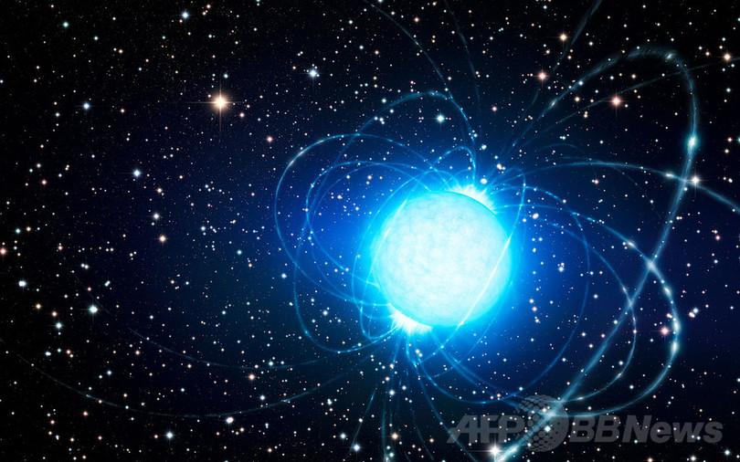 超高密度の天体「マグネター」、...