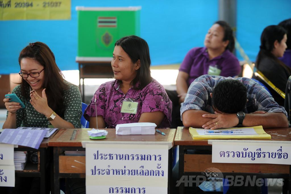 2月のタイ総選挙は無効、憲法裁判所が判決