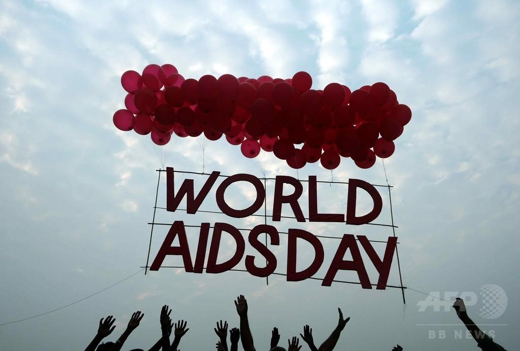 HIV患者の平均余命、欧米で10年延伸 研究