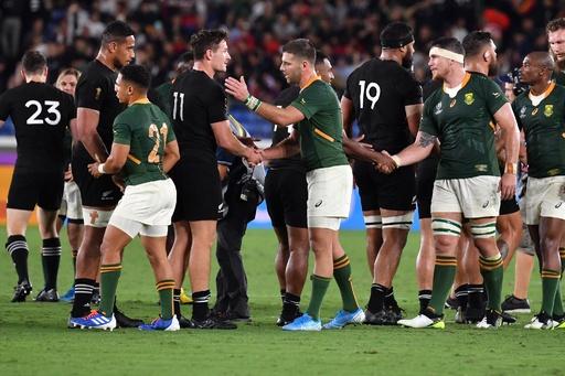 王者NZが南ア下す、注目対決制し連覇へ好発進 ラグビーW杯