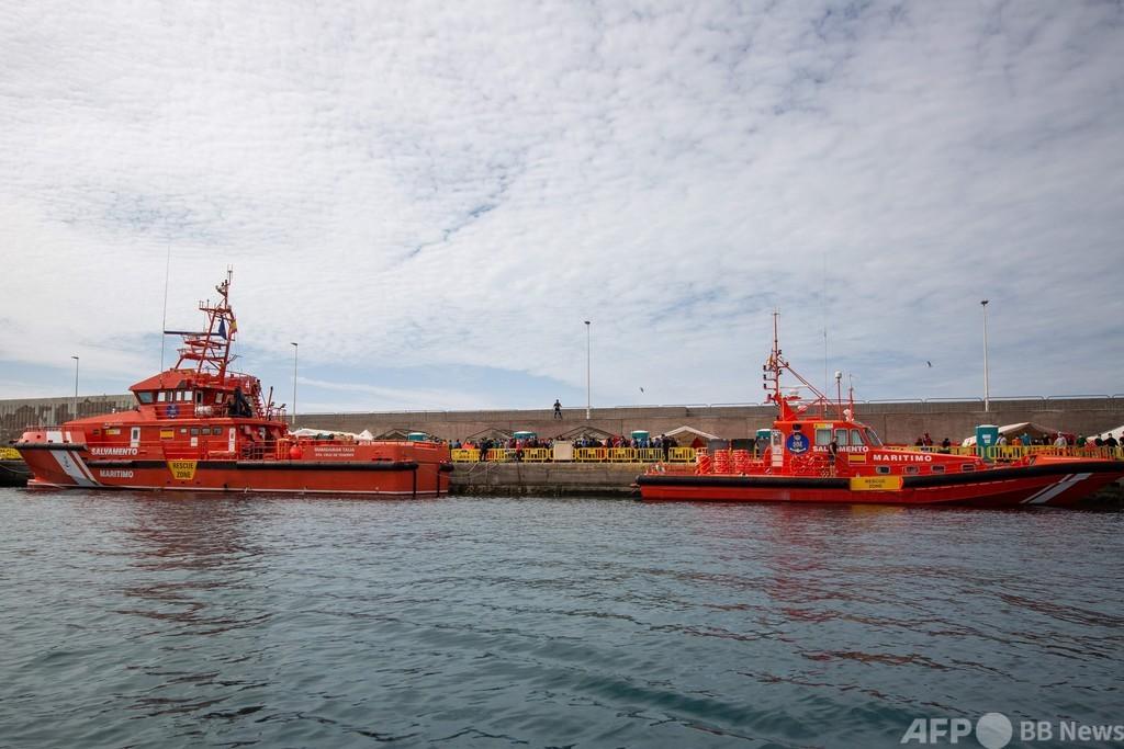 セネガル沖で移民船沈没、140人死亡 IOM