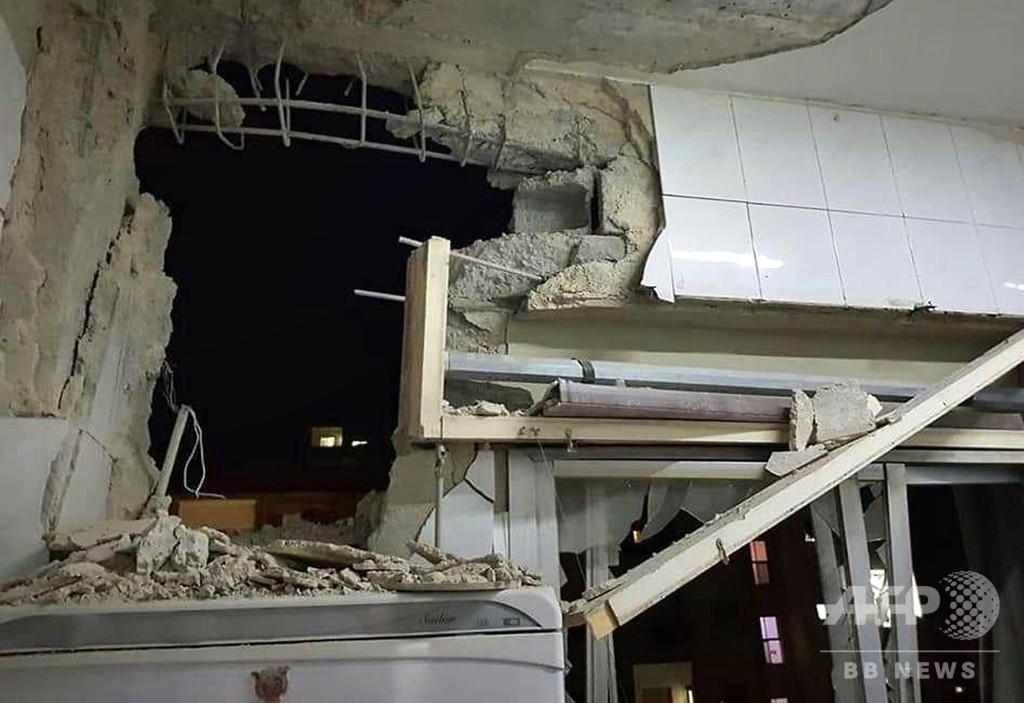 シリア、首都上空でイスラエル軍機のミサイルを迎撃 国営通信