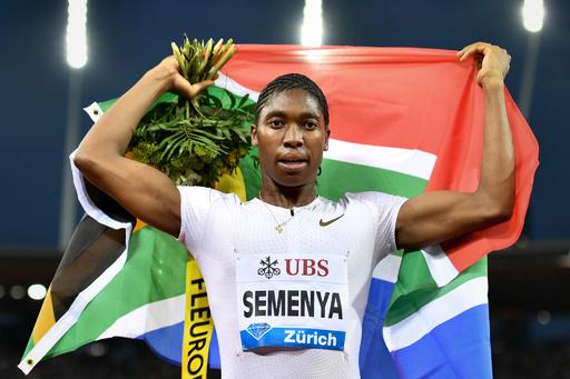 セメンヤは「紛れもなく女性」 、IAAFの主張に弁護士反論