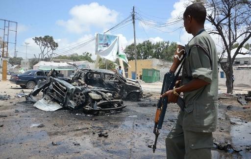 無人機攻撃でアルシャバーブ幹部死亡、ソマリア政府発表