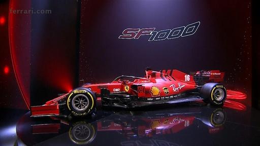 動画:フェラーリが新車「SF1000」発表、13年ぶりのタイトル奪還目指す