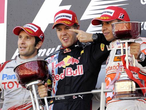 ベッテル ポール・トゥ・ウィンでシーズン3勝目、日本GP