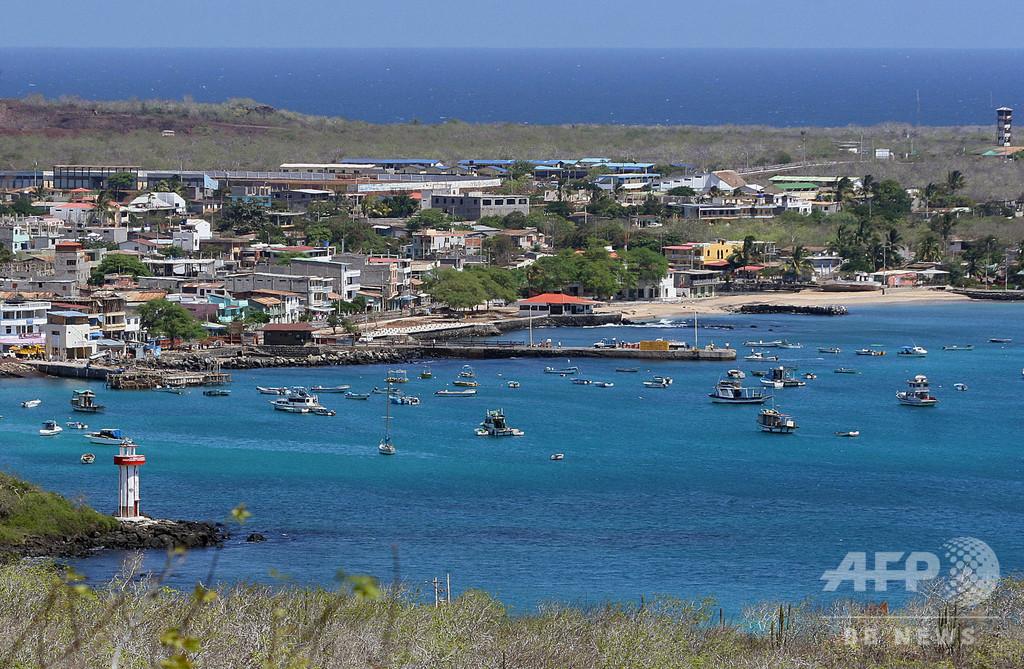 ガラパゴス諸島への米軍基地設置はない、エクアドル大統領が臆測を否定