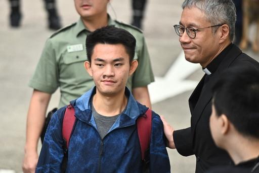 香港デモ発端の容疑者が自由の身に 台湾・香港の対立で