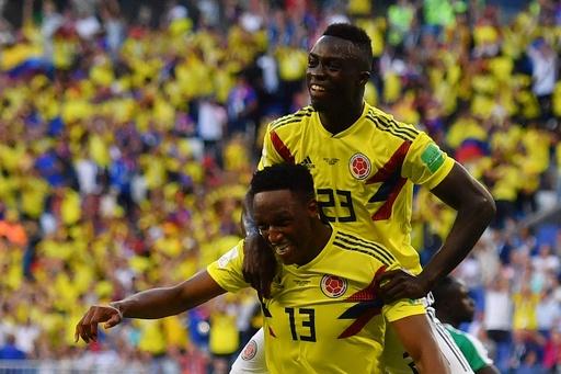 【写真特集】コロンビアが逆転で決勝Tへ、セネガル対コロンビア