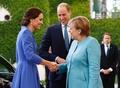 ウィリアム英王子夫妻、ドイツを訪問 ホロコースト生存者と面会も