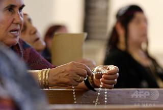 キリスト教徒ら大脱出、イラク北部 「イスラム国」改宗など強制