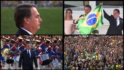 動画:ブラジル、極右のボウソナロ新大統領が就任 左派政策との決別宣言