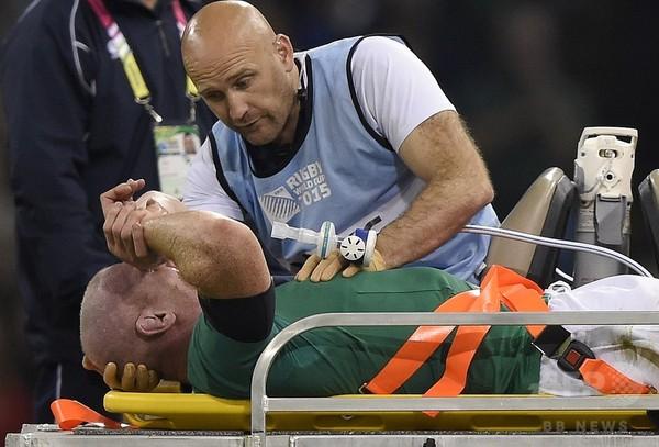 アイルランドに暗雲、フランス戦でオコンネルら3選手が負傷 ラグビーW杯