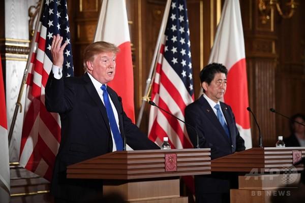 トランプ氏、対北で「戦略的忍耐の時代終わった」 日本は制裁強化へ