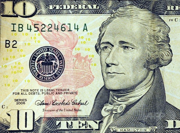 米、10ドル紙幣に女性の肖像 2020年発行へ