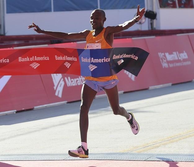 ケニアのチュンバとキプラガトが優勝、福士は4位入賞 シカゴ・マラソン