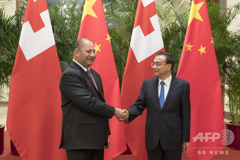 トンガ、中国に太平洋島しょ国の債務帳消し要請