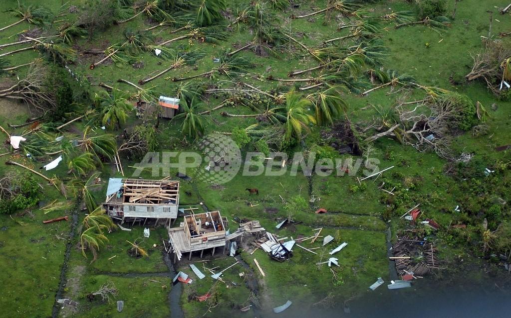 2つのハリケーンによる死者40人に