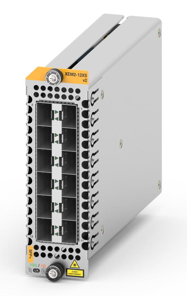 10ギガ対応 拡張モジュール「AT-XEM2-12XS v2」をリリース