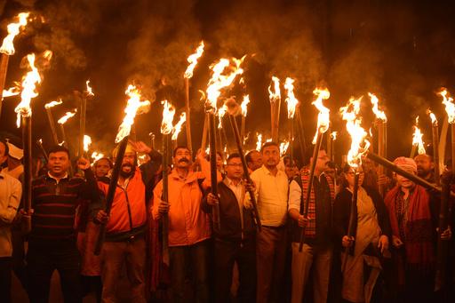 インド下院、市民権改正法案を可決 イスラム教徒以外が付与対象